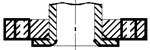 Схема фланца тип 03