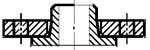 Схема фланца тип 04