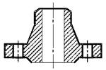 Схема фланца тип 11