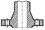 Схема фланца тип 21